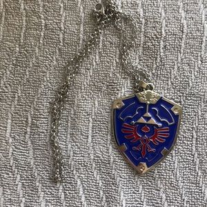 Legend of Zelda Hylian Shield Necklace